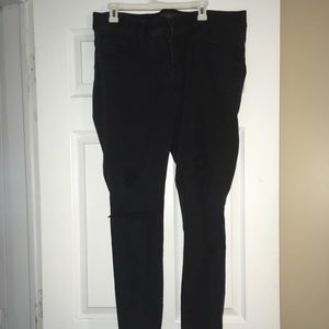 Distressed Torrid jeans